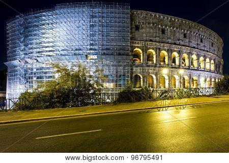 Grand Evening Coliseum, Rome, Italy