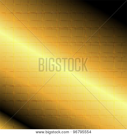 Grid line golden bacground vector vector design template abstract