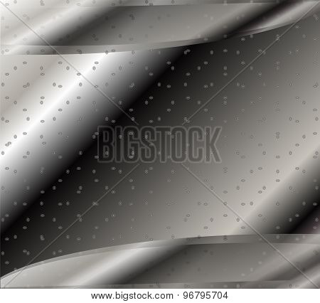 Hi-tech black and white background