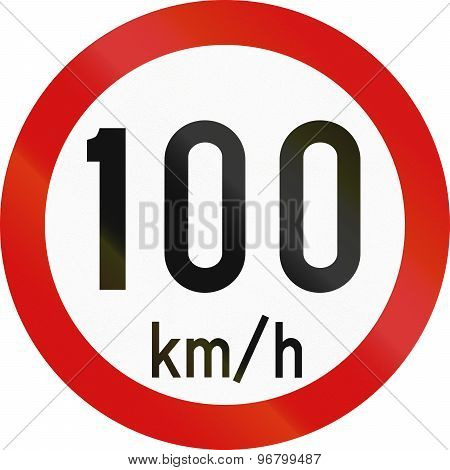 Speed Limit 100 In Ireland