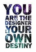 Quote Typographical Background, vector design. poster