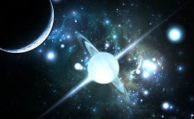 pic of neutron  - Pulsar highly magnetized rotating neutron star - JPG