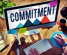 pic of loyalty  - Commitment Promise Responsibility Loyalty Trust Concept - JPG