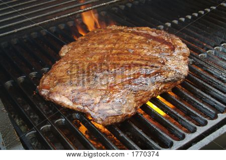 Flank Steak On The Bbq