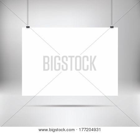 empty white vector horizontal vector & photo | bigstock, Powerpoint templates