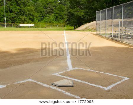 Línea de primera Base
