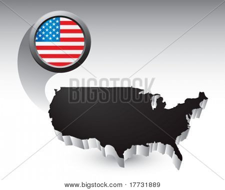 usa icon black united states icon