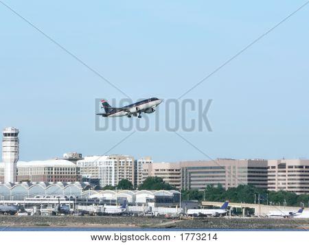 Jet Plane In Flight - Take Off 4