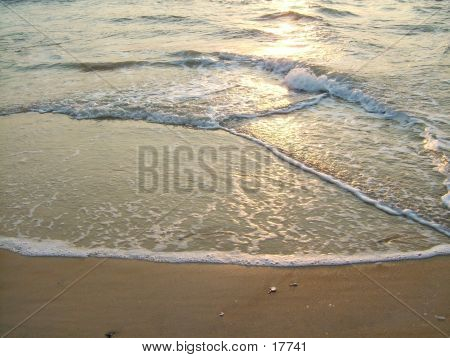 Waves On Beach