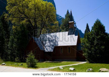 Chapel In Yosemite National Park