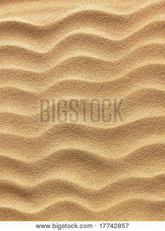 fundo de areia da praia vista de perto