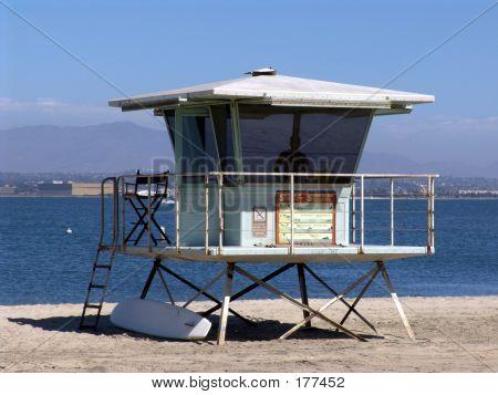 Rettungsschwimmer-Station