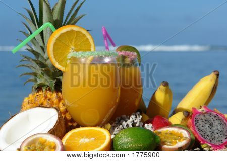 Cocktail And Tropical Drinks