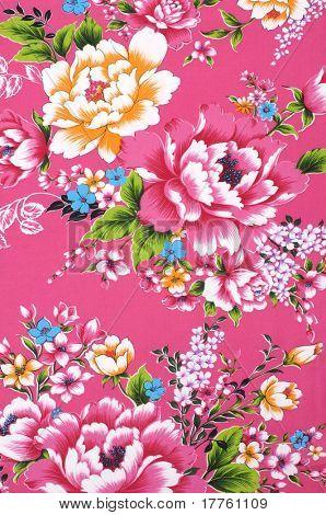 Muestra de tejido de chino tradicional