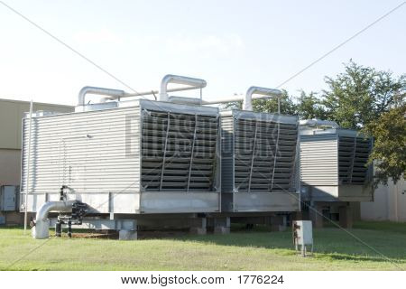 Large Industrial Air Conditioning Units