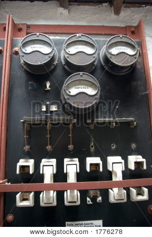 Switch Board Meters Fuses