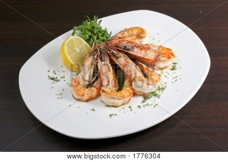 Prawn With Vegetables