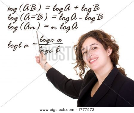 Female Maths Teacher