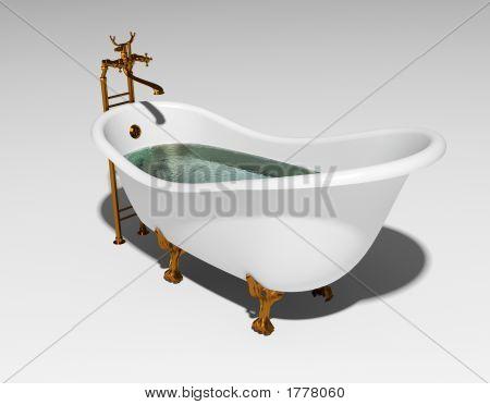 Banheira clássica