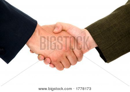 Business Handshake Deal