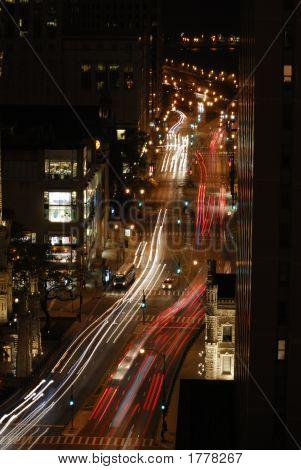 Aerial Street Scene