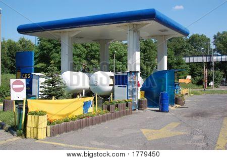 Estación de llenado de GLP