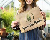 Ecology Environment Save Earth Organic poster