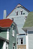 Colorful Lunenburg Architecture poster