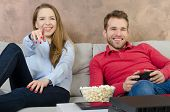 Pair Spends Free Time Playing Video Games poster