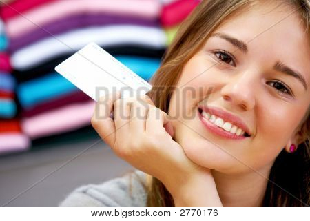 Woman - Credit Card