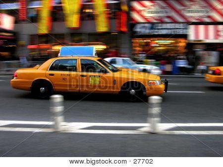 Times Square Cab