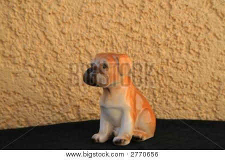 Boxer Puppy Figurine
