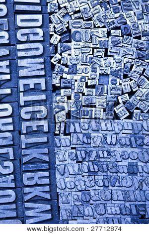 Print letter cases