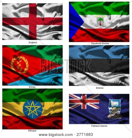 Fabric World Flags Collection 12