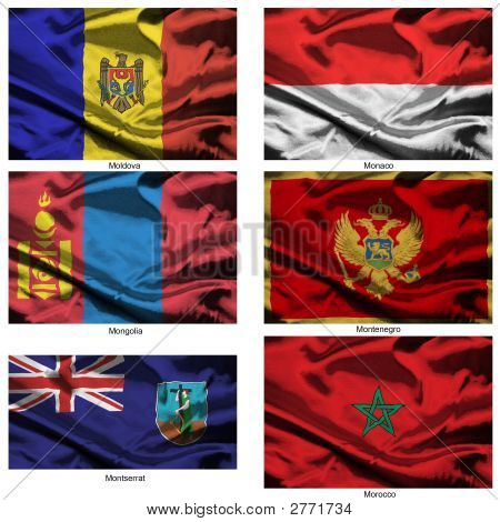 Fabric World Flags Collection