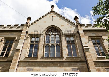 Facade Of Gothic Structure