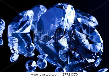 Diamond - a hard, precious, expensive stone