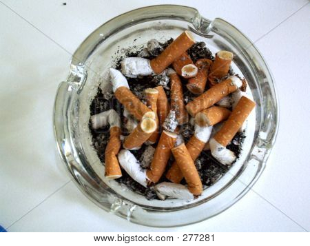 Full Ashtray