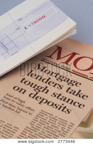 Mortgage Lending And Chequebook