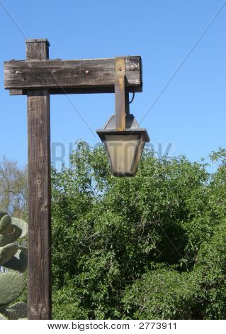 Old Styled Street Lamp