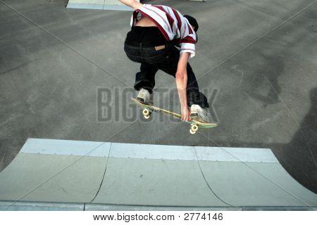 Skatboarding:Backside Grab