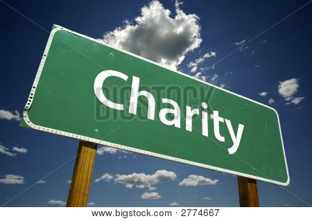 Charity - Road Sign.