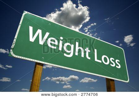 Pérdida de peso - muestra del camino