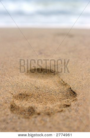 Footprint On Sand #2