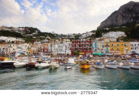 Boat On Capri Island #1