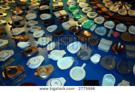 Variety Of Hospital Bedpans