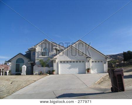White Modular Home