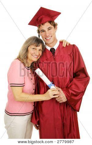 Proud Mom & Graduate