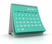 Постер, плакат: Календарь 2012 Апрель