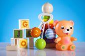 image of teething baby  - Baby toys - JPG